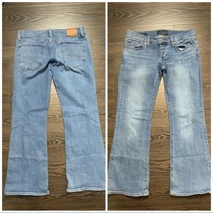 Lucky Brand Lil Maggie Sz 4/27 boot cut blue jeans